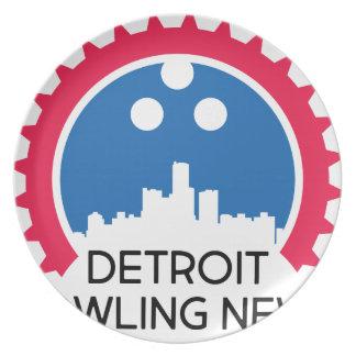 DetroitBowlingNews.com Plate