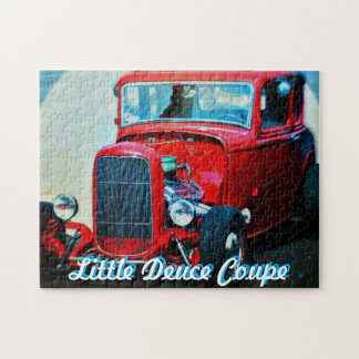 Deuce Coupe 11x14 Photo Puzzle with Gift Box