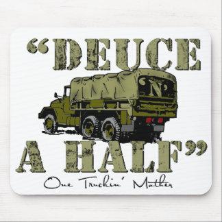 Deuce 'n' A Half Mouse Pad