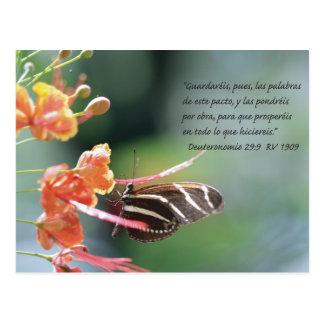 Deuteronomio 29:9 Tarjeta Postal Postcard