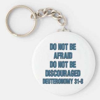 Deuteronomy 31:8 key ring