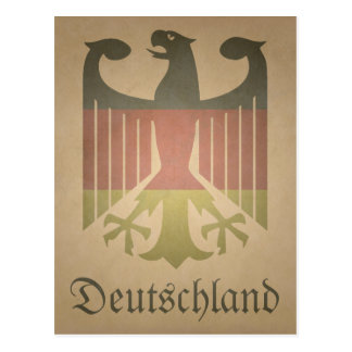 Deutsch-Eagle Postcard