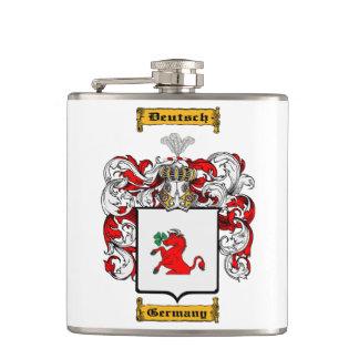 Deutsch Hip Flask