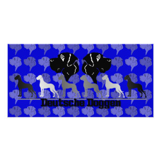 Deutsche Doggen Photo Card