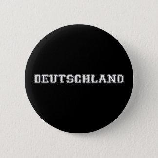 Deutschland 6 Cm Round Badge