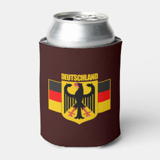 Deutschland Flag & Coat of Arms Can Cooler