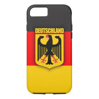 Deutschland Flag & Coat of Arms iPhone 8/7 Case