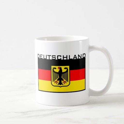 Deutschland Flag Mug