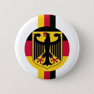 Deutschland Fussball Eagle Colours design 6 Cm Round Badge