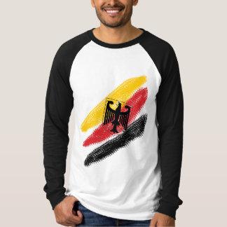 Deutschland Fussball Soccer Eagle Baseball jersey T-Shirt