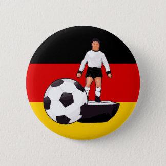 Deutschland Fussball Table soccer design 6 Cm Round Badge