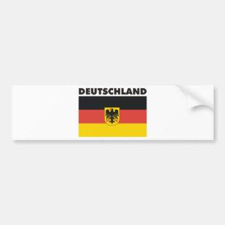 Deutschland Germany Products & Designs! Bumper Sticker