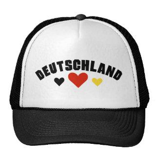 Deutschland Hearts Trucker Hat