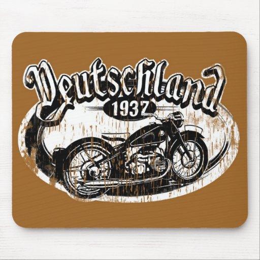 Deutschland Motowear Mouse Pad