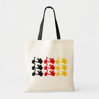 Deutschland Scooter flag Tote Bag