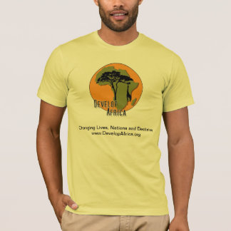 Develop Africa T-Shirt With African Artwork