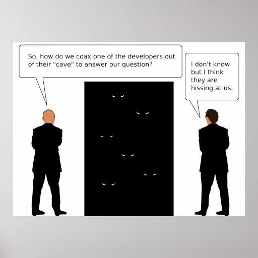 Developer Cave Posters
