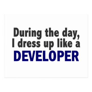 Developer During The Day Postcards
