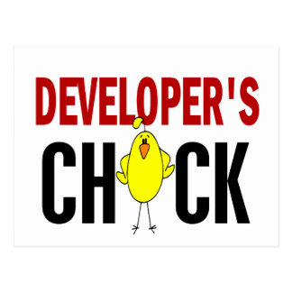 Developer's Chick 1 Postcards