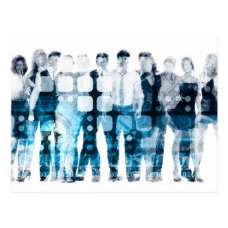 Developing Workforce or Develop Talent Postcard