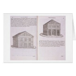 Development of Housing, from 'Della Architettura', Card