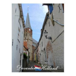 Deventer Street and Church Holland Postcard