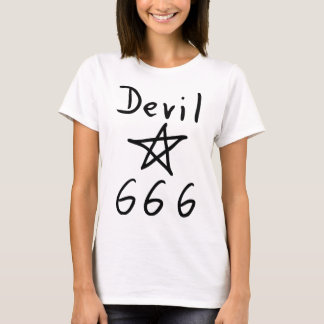 devil 666 icon T-Shirt