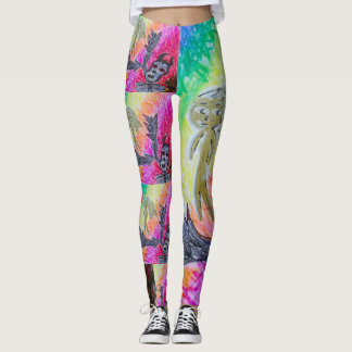 devil angel birthday dance fitness fashion artist leggings