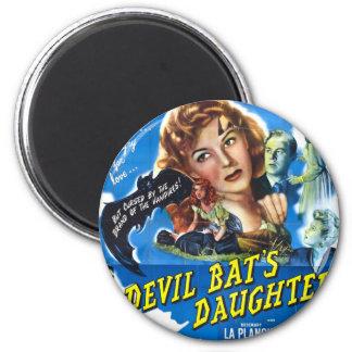 Devil Bat's Daughter, vintage horror movie poster Magnet
