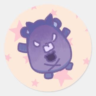 Devil bear- from Eve's Ano ko secret Classic Round Sticker