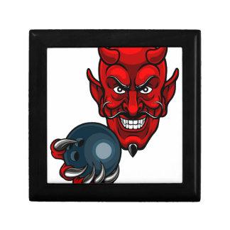 Devil Bowling Sports Mascot Gift Box