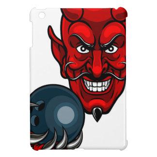 Devil Bowling Sports Mascot iPad Mini Cover