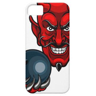 Devil Bowling Sports Mascot iPhone 5 Cover
