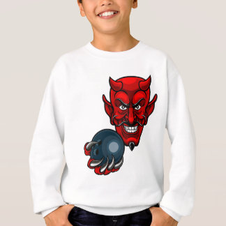 Devil Bowling Sports Mascot Sweatshirt