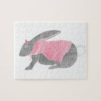 Devil Bunny Jigsaw Puzzle