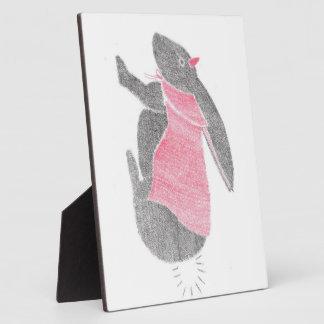Devil Bunny Plaque