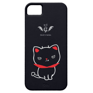 Devil Cat Nikolas Classic iPhone 5 Cover