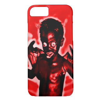Devil Child Airbrush Art iPhone 7 Case
