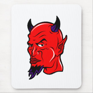 devil-clip-art mouse pad