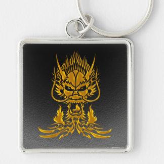 Devil Dragon gold Key Ring