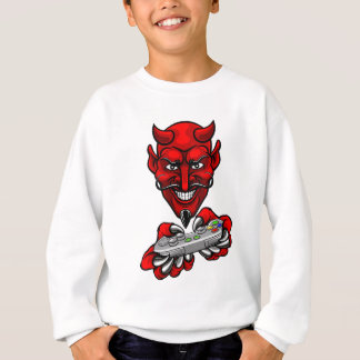 Devil Esports Sports Gamer Mascot Sweatshirt