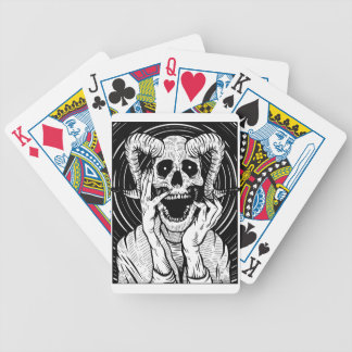 devil face bicycle playing cards