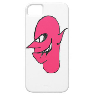 Devil Face Character Illustration iPhone 5 Cover