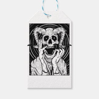 devil face gift tags