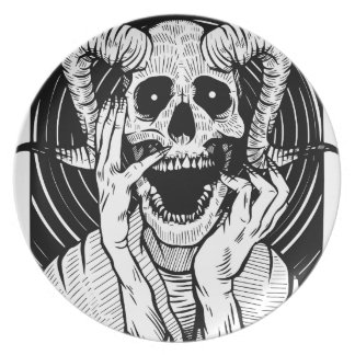 devil face plate
