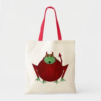 Devil Frog Tote Bag