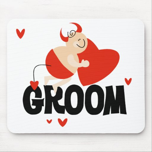 Devil Groom T-shirts and Gifts Mouse Pads