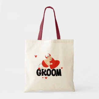 Devil Groom T-shirts and Gifts Tote Bags