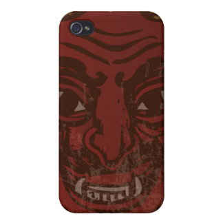 Devil Head (faded red) iPhone 4/4S Cover