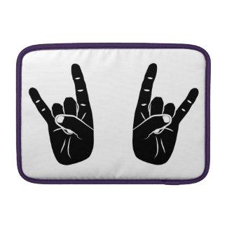 Devil Horns MacBook Air Sleeves
